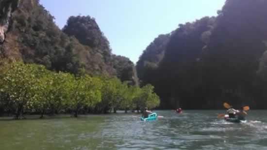 Escursioni in canoa a Phang-Nga