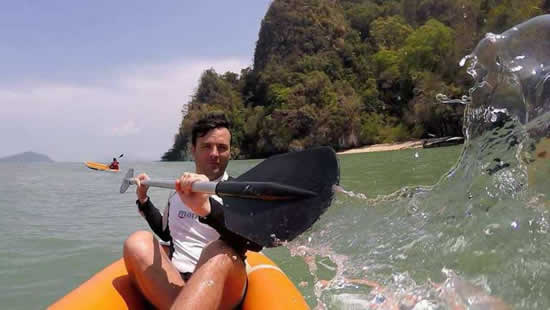 Tour Baia Phang Nga - Canoa