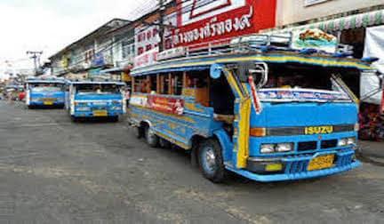 vacanza Phuket - mezzi di trasporto