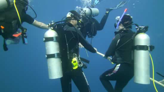 Subacquei immersioni phuket