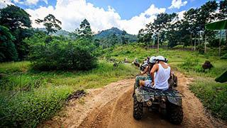 Koh Samui escursioni - ATV