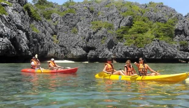 Koh Samui Pacchetto Vacanze - Snorkeling e canoa