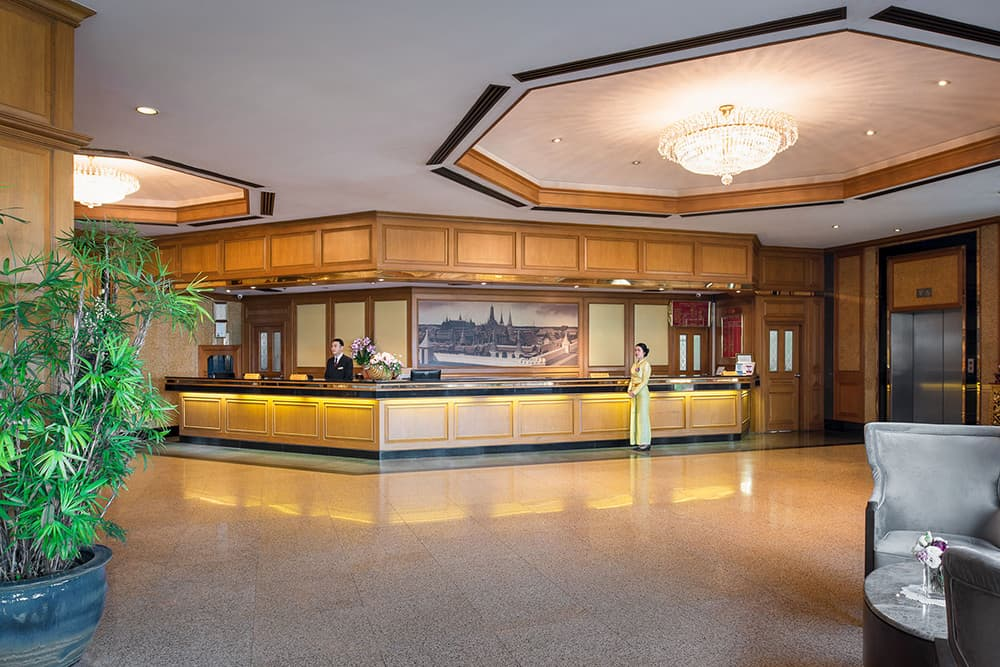 Bangkok Hotels - Prince Palace Hotel Reception