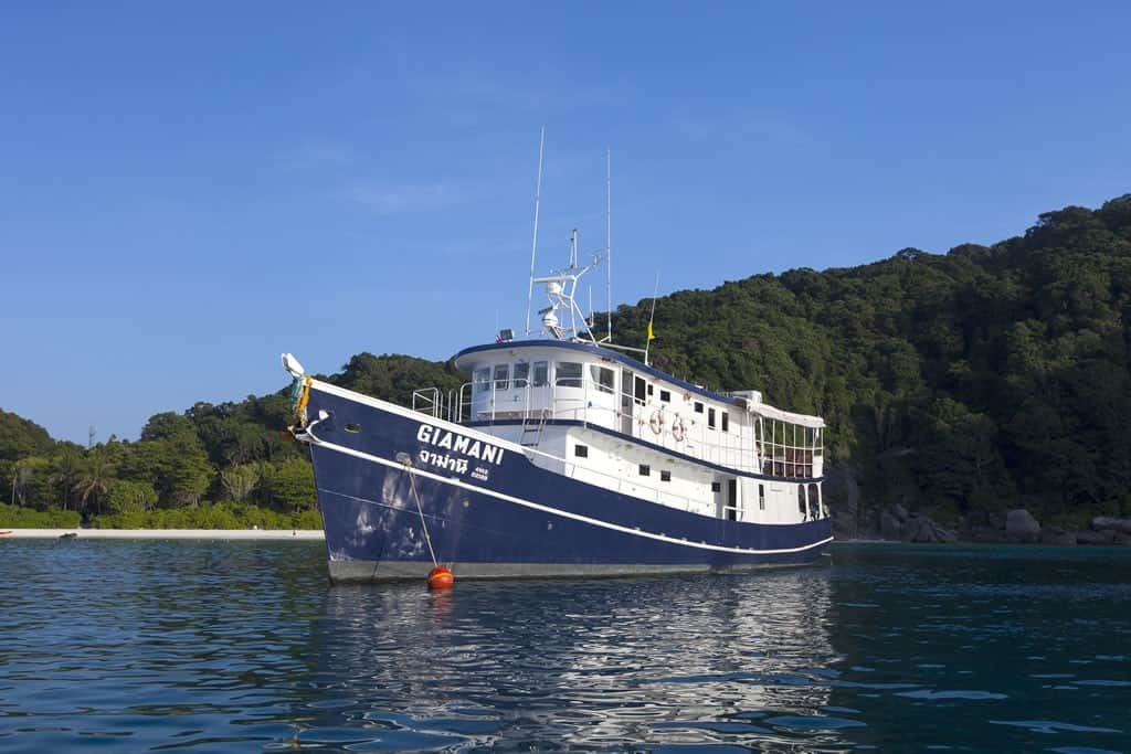 Immersioni Phuket - MV Giamani