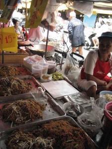Street food a Kalim Beach