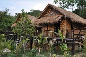 Krabi Hotels - Wareerak Hot Spring - Bamboo Cottage