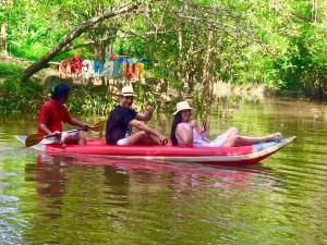 Kayaking sul Little Amazon