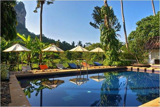 Krabi Hotels - Aonang Paradise Resort - Piscina