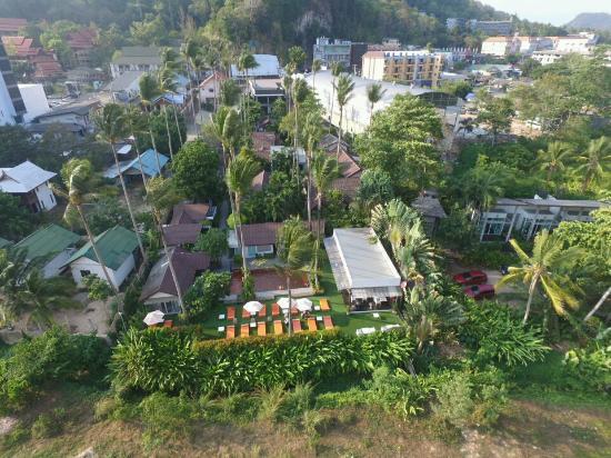Krabi Hotels - Aonang Paradise Resort - Vista dall'alto