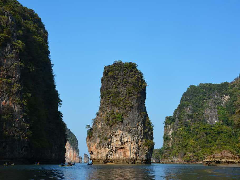 Koh Hong a Phang Nga