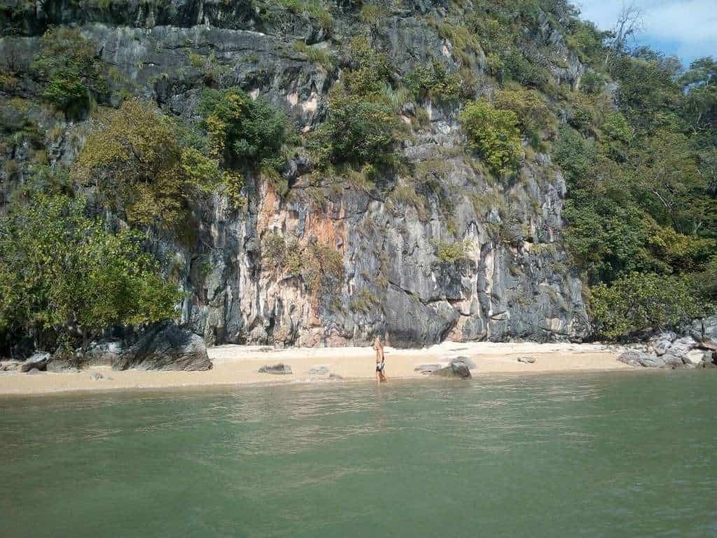 Spiaggia a Koh La Na